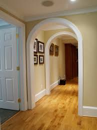 hallway love the arch doorways i am going to do this for the