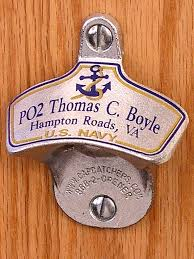 Unique Wall Mount Bottle Opener Personalized Us Navy Wall Mount Bottle Opener