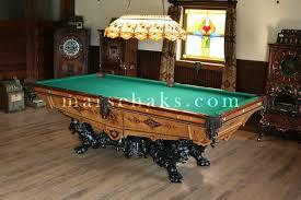 brunswick monarch pool table brunswick pool table antique brunswick monarch victorian antique