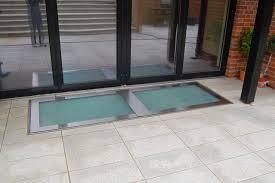 glass floor fixed glazed rooflights roof windows surespan ltd uk