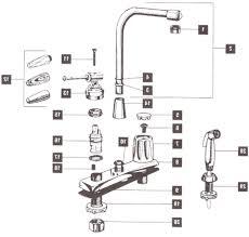 Delta Kitchen Faucet Parts Kitchen Faucet Parts By Rubbed Pfister Home Design