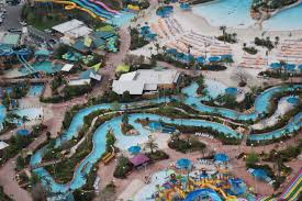 Aquatica Orlando Map by Leading Edge Helicopter Tours