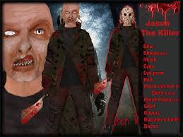 Halloween Avatar Costume Marketplace Complete Male Avatar Jason Killer