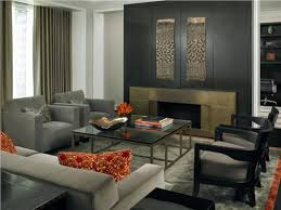 contemporary modern retro formal living family room photos