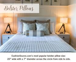 bolster bed pillows size matters what you need to know about pillows cushion source bed