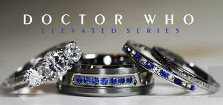 dr who wedding ring doctor who wedding bands 36136 patsveg