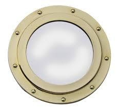 home decoration cool chrome porthole mirror ideas decorative
