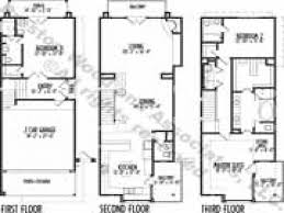housing floor plans modern house modern narrow lot house plans