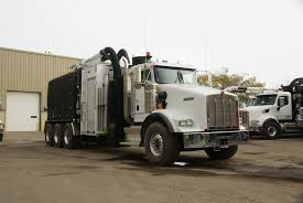kenworth heavy trucks kenworth t800 with mud dog hydro excavation vacuum body