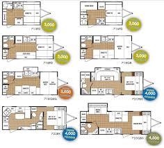 sierra rv floor plans terrific bunk house plans photos best idea home design