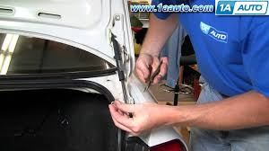 2006 honda accord trunk latch assembly how to install replace trunk lid lift strut honda accord 94 97