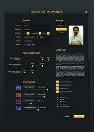 ui designer resume ui designer resume by cagdastakis graphicriver