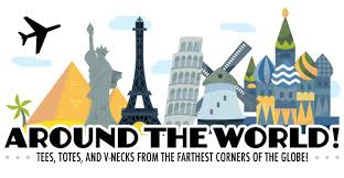 shirt woot s around the world collection compete tion