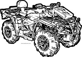 coloring pictures 4 wheelers murderthestout