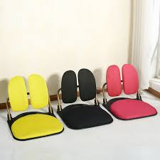Ergonomic Folding Chair Smart Folding Tatami Ergonomic Comfort Legless Floor Zaisu Chair