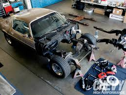 car suspension repair performance front subframe and suspension swap chevy high