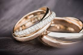 wedding bands finding his and hers unique wedding bands