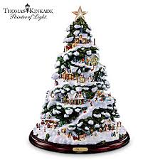 kinkade artificial tabletop tree