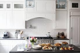 modern white subway tile kitchen images u2014 the clayton design
