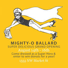 Map Ballard Seattle by Mighty O Ballard Grand Opening At Mighty O Donuts In Seattle Wa