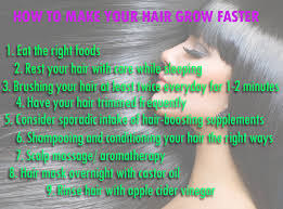 how to make your hair grow faster how to make your hair grow faster healthoop