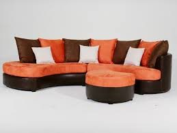 canapé d angle orange canapé d angle tissu dakar 4 5 places 37319