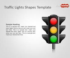stoplight report template free traffic lights shapes template