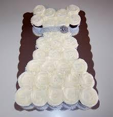wedding dress cupcake cake cooking mamas