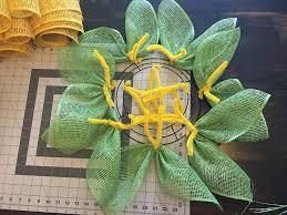 burlap sunflower wreath diy sunflower wreath tutorial grillo designs