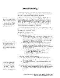 brainstorming a class session design guide