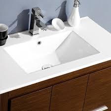 44 Inch Bathroom Vanity Fresca Allier 36 Inch Wenge Brown Modern Bathroom Vanity With