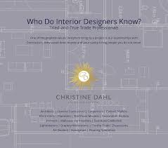 designer tips christine dahl interior design