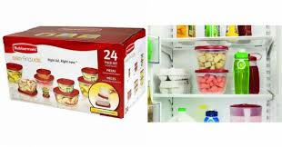 rubbermaid black friday sale rubbermaid 24 piece food storage set just 10 00 at walmart
