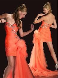 15 best orange evening dresses images on pinterest evening