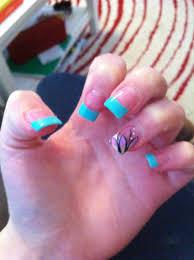 acrylic nail design for spring nails pinterest acrylics