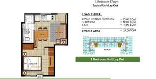 one bedroom condo one bedroom condominium units for sale in molo iloilo city