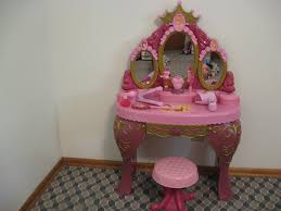 Minnie Mouse Vanity Mirror Disney Princess Toy Vanity Belle Cinderella Sleeping Beauty