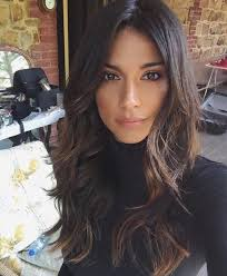 best 25 middle part hair ideas on pinterest collins lilly