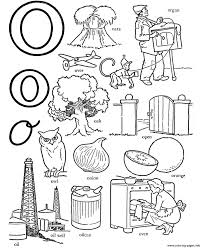 different words of o alphabet s9b50 coloring pages printable