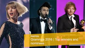 2016 grammy awards complete list of winners and nominees la times