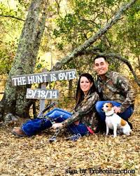 Save The Date Signs Save The Date Wedding Sign The Hunt Is Over Engagement Photo Prop