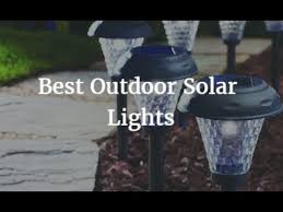 Best Outdoor Solar Lights - best outdoor solar lights 2017 youtube