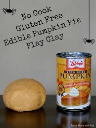 no cook gluten free edible pumpkin pie play clay play clay