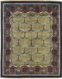 sage green and purple area rug arts u0026 crafts series u2013 the