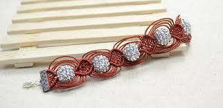 macrame bracelet with beads images Instructions on making a 12 string macrame bracelet with resin jpg