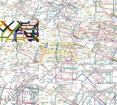 Paris Ohio Map by Tube Map Central Tubemapcentral Twitter