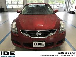 nissan altima 2013 key start pre owned 2013 nissan altima 2 5 s 2dr car in rochester uh5591