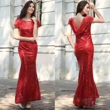 sequins drop back long mermaid bridesmaid dress u2013 meetyoursfashion
