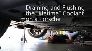 Porsche Cayenne Coolant Pipes - how to drain and flush the coolant on a porsche boxster youtube