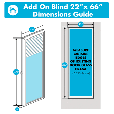 odl add on blinds for raised frame doors 22
